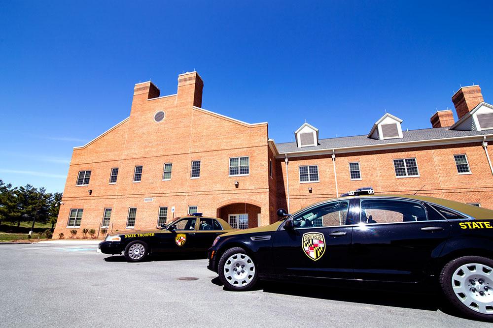 MD State Police Barrack O